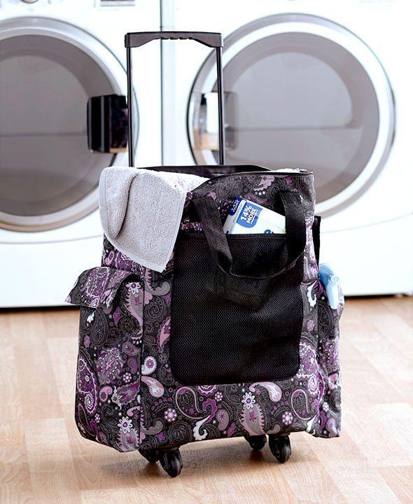 Laundry Hamper Portable Rolling Basket Bag Dorm Clothes Storage Sort Organize Dorm Laundry Hamper Laundry Hamper Dorm Laundry