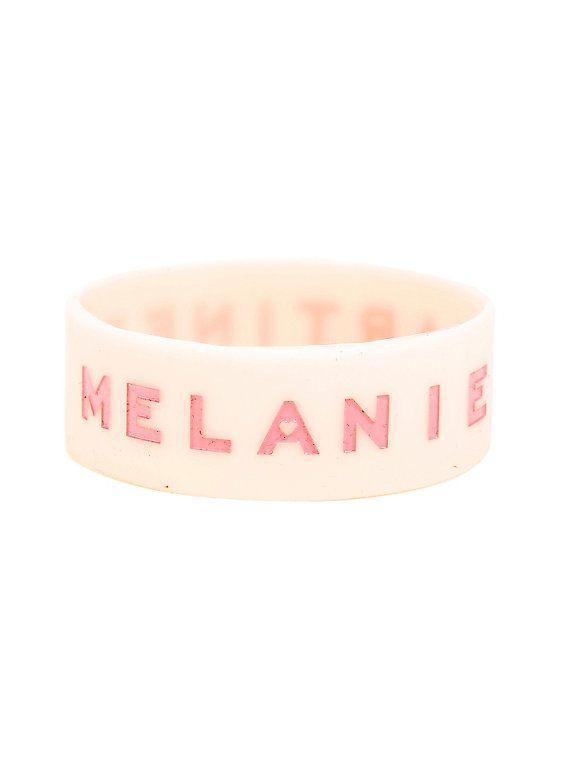 Melanie Martinez Pink Rubber Bracelet