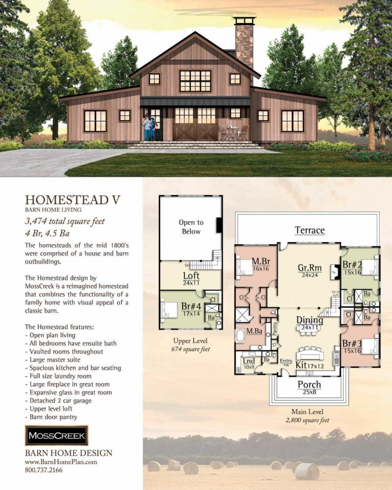 Post & Beam Home Plans In VT