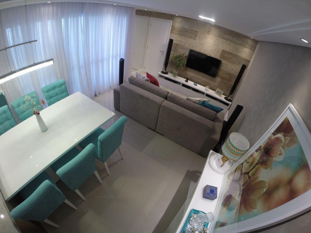 Living Social Com Cozinha Integrada Ahorrando Espacio Sala  -> Minha Sala E Cozinha