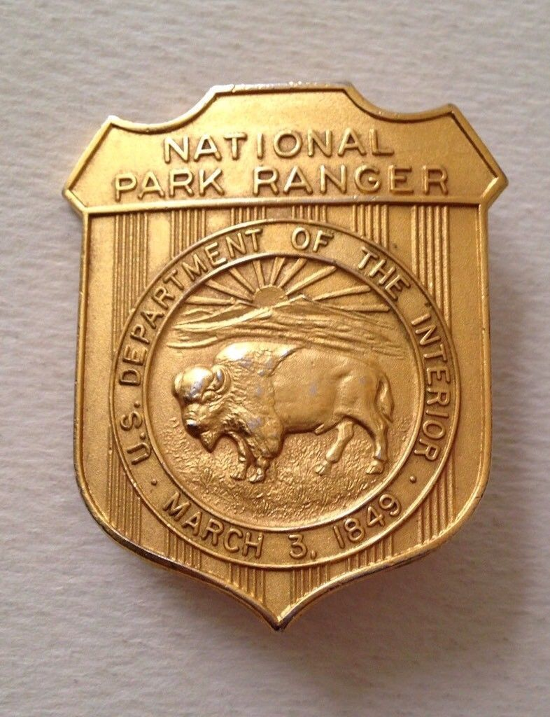 National Park Ranger, U.S. Department of Interior