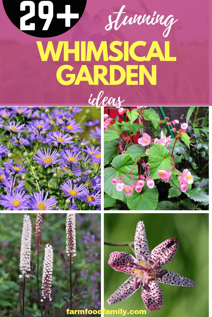 Stunning Whimsical Garden Ideas myGardenAnswers Pinterest