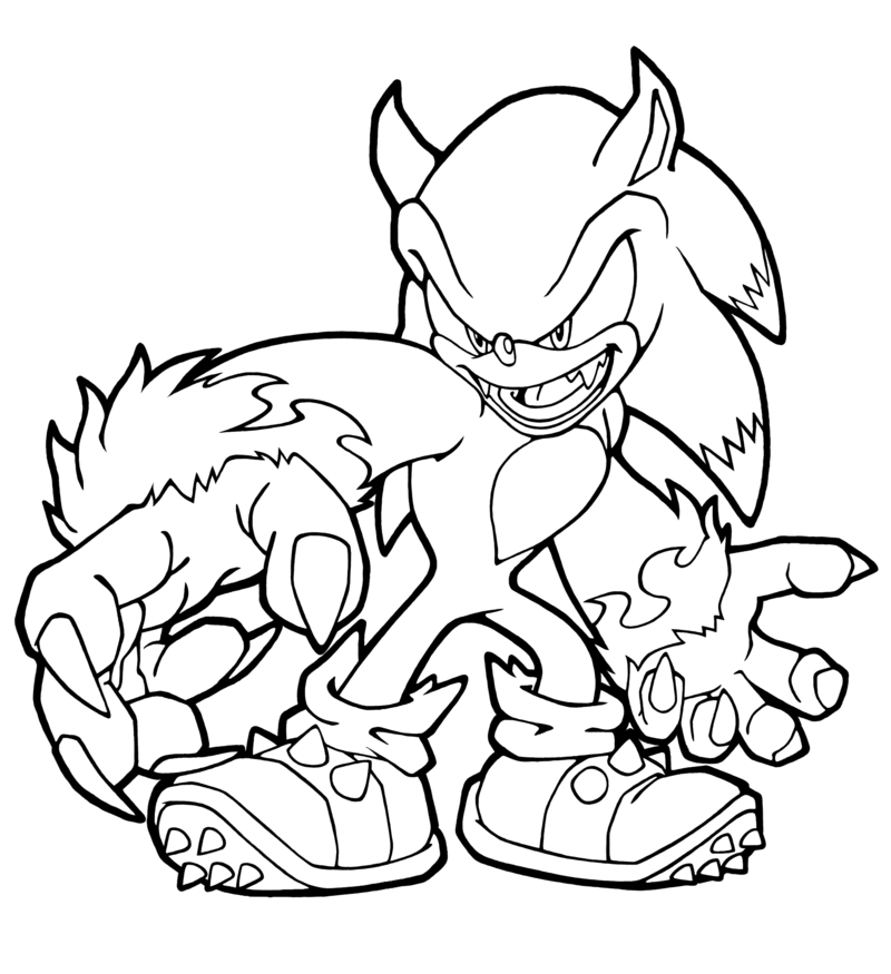 Sonic Halloween Coloring Pages Halloween Coloring, Cartoon Coloring Pages,  Halloween Coloring Pages