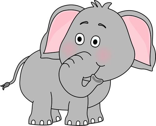 cute baby elephant clip art elephant looking behind clip art image rh pinterest com free clipart of baby elephants Baby Shower Elephant Clip Art