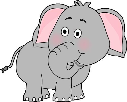 cute baby elephant clip art
