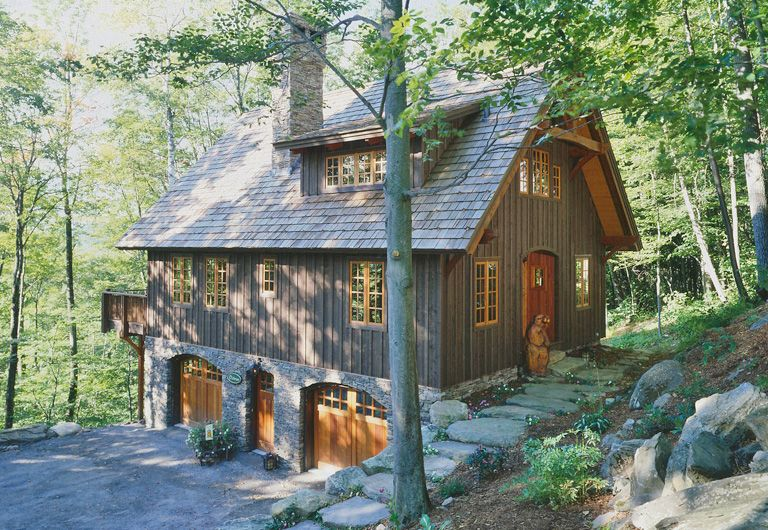 Post And Beam Cottage Carriage House With Shed Dormer