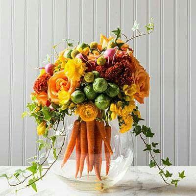 Festive table arrangements