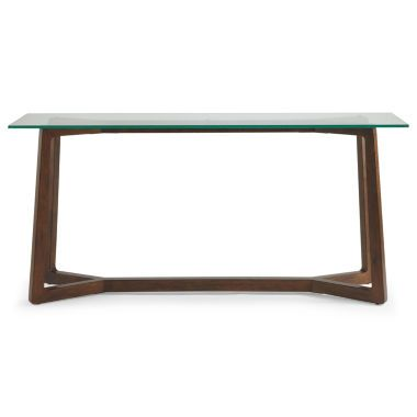 Destin Glass Top 28 Quot Sofa Table Found At Jcpenney