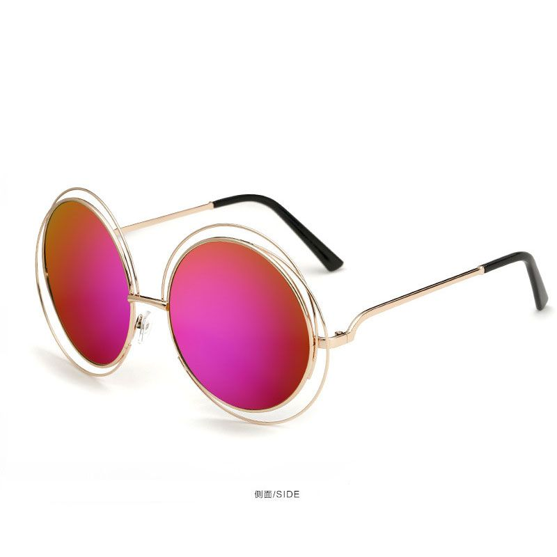 630b93144a Click to Buy    Oversized Round Metal AO Sunglasses Men Women Fashion  Glasses