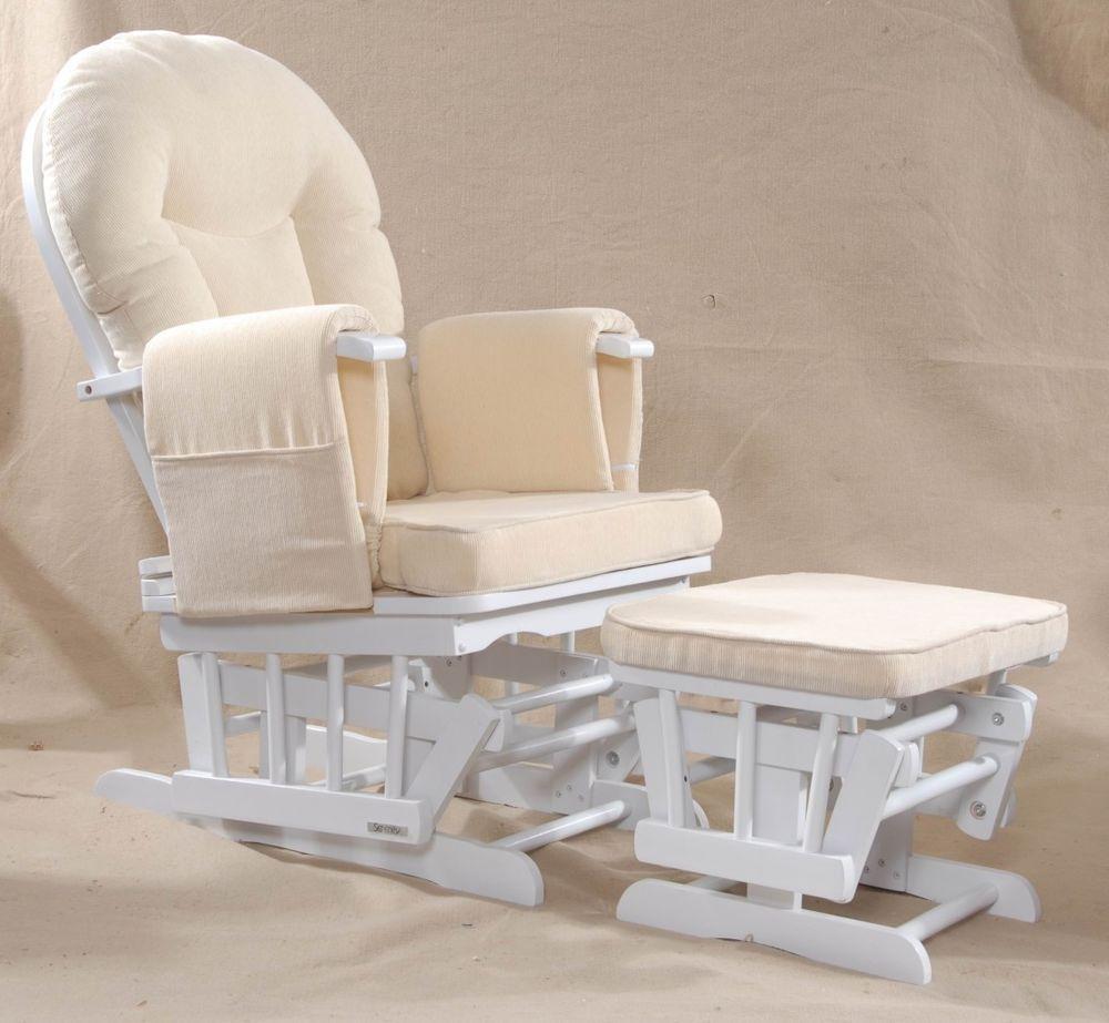 Serenity White Nursing Glider maternity rocking chair SRP£249 - £110 (£105 on amazon) -Donna & Serenity White Nursing Glider maternity rocking chair SRP£249 ...