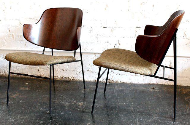 Ib Kofod Larsen Easy Chairs