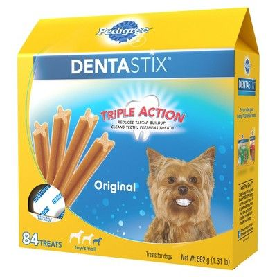 Pedigree Dentastix Original Toy Small Treats For Dogs Value Pack
