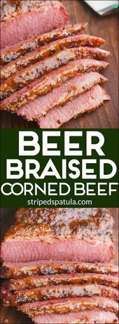 Photo of Juicy Beer Braised Corned Beef, Glazed With An Irresistible …