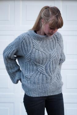 strik sweater til damer