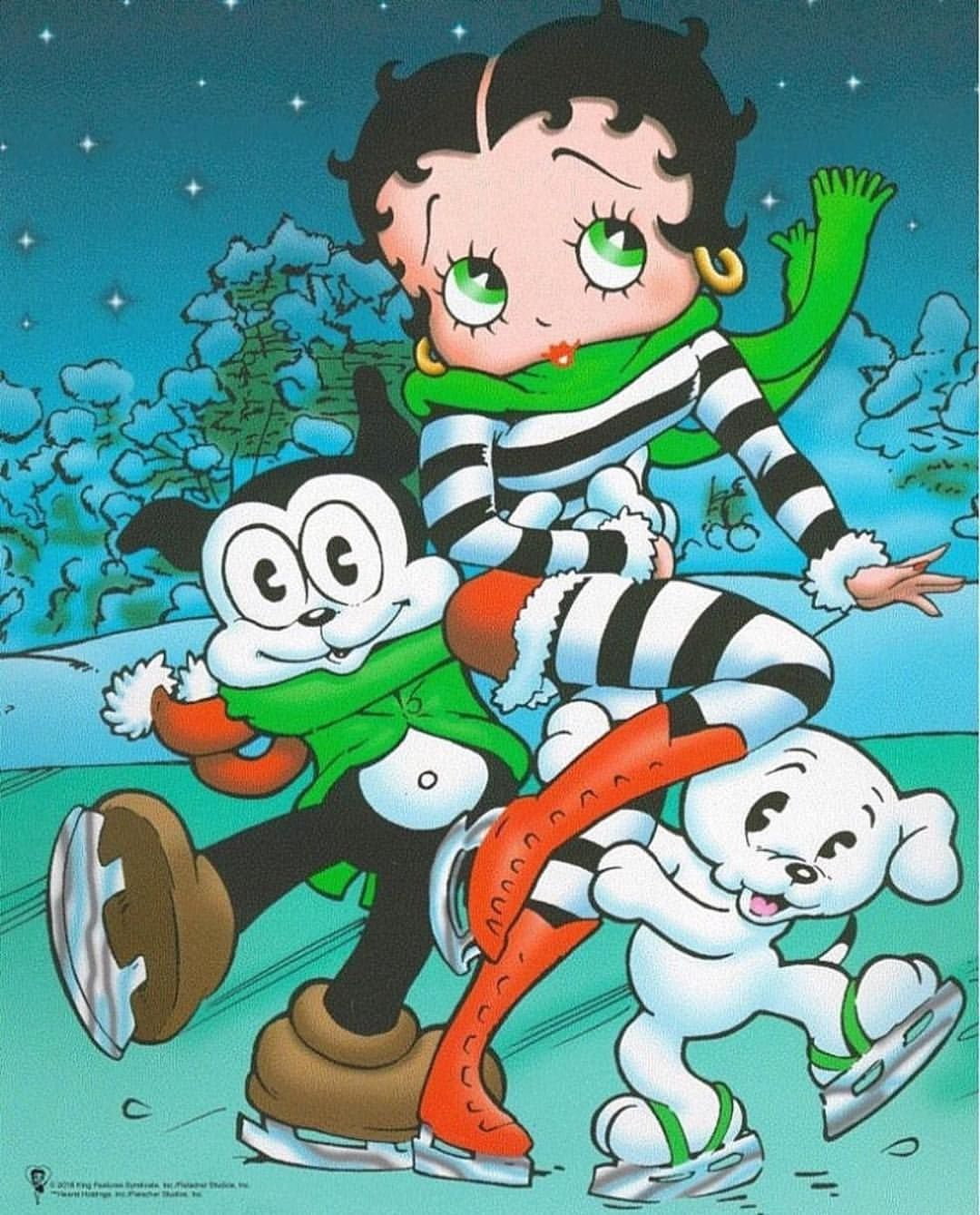 Hope you're having some fun today! 😀☃️ #booplove #boxingday #fun #holidays2016 #bettyboop