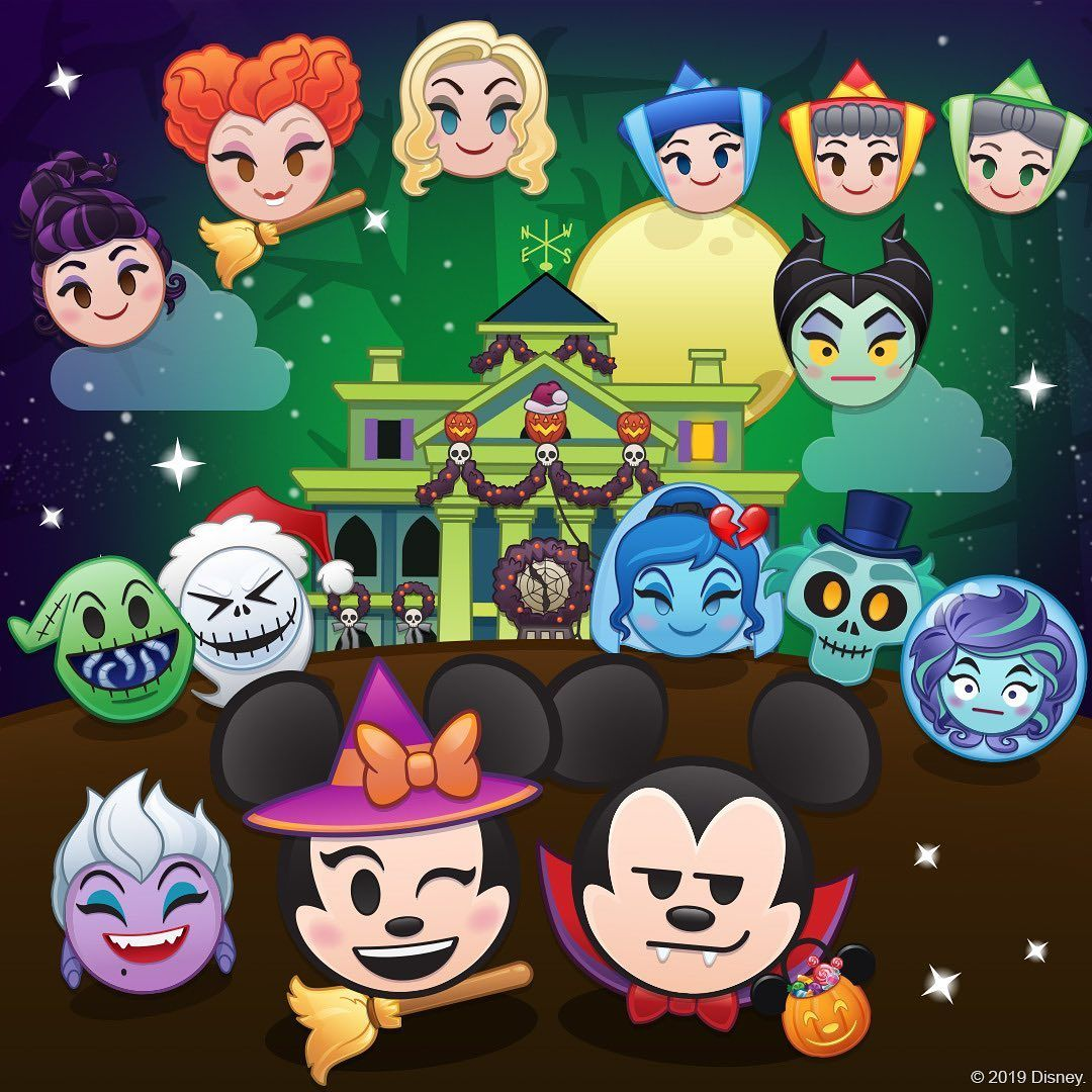 This October Every Day Is Halloween With 8 New Emojis In Disney Emoji Blitz Ursula S Soul O Ween Token Ques Disney Emoji Disney Emoji Blitz Disney Games