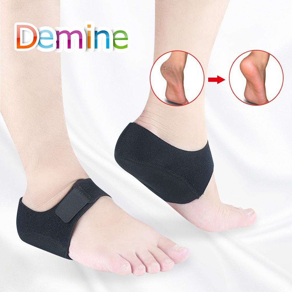 High Heel Insoles Silicone Shields Anti Slip Heel Insert Arch Support Pad