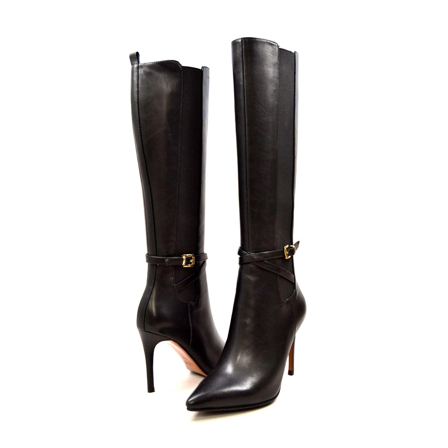 Bodycon dress knee high boots narrow calves quacker factory jefferson