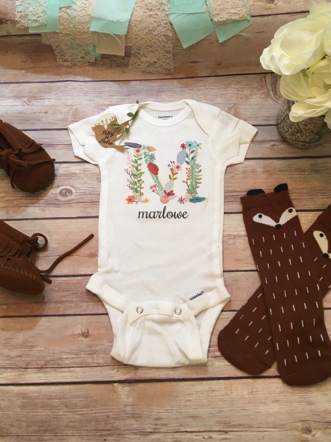 Baby gift name onesie baby girl clothes baby shower gift name onesie baby girl clothes baby shower gift custom onesie cute negle Image collections
