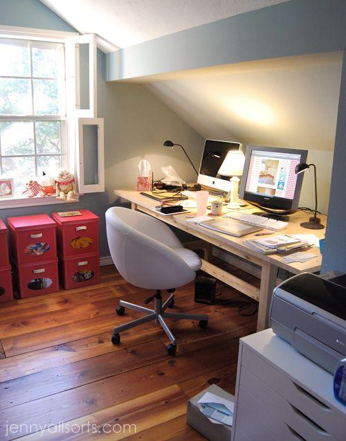 attic office ideas. office spaces attic ideas