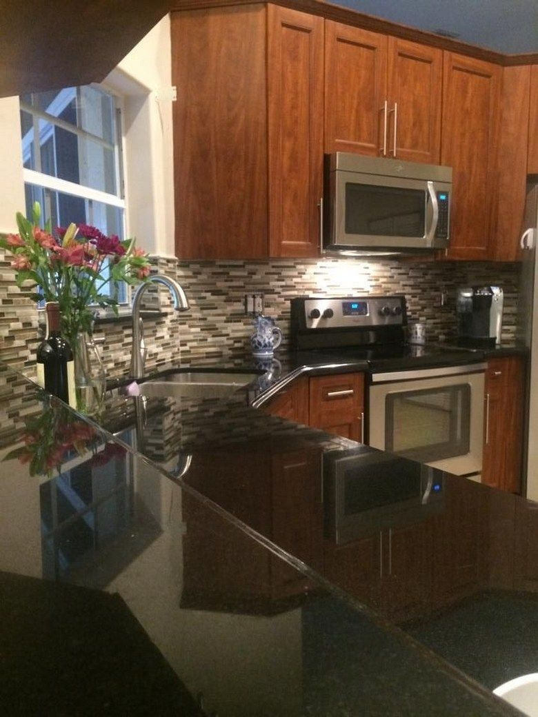86 Ideas For Backsplash For Black Granite Countertops And ... on Backsplash Ideas For Black Granite Countertops And Maple Cabinets  id=51457