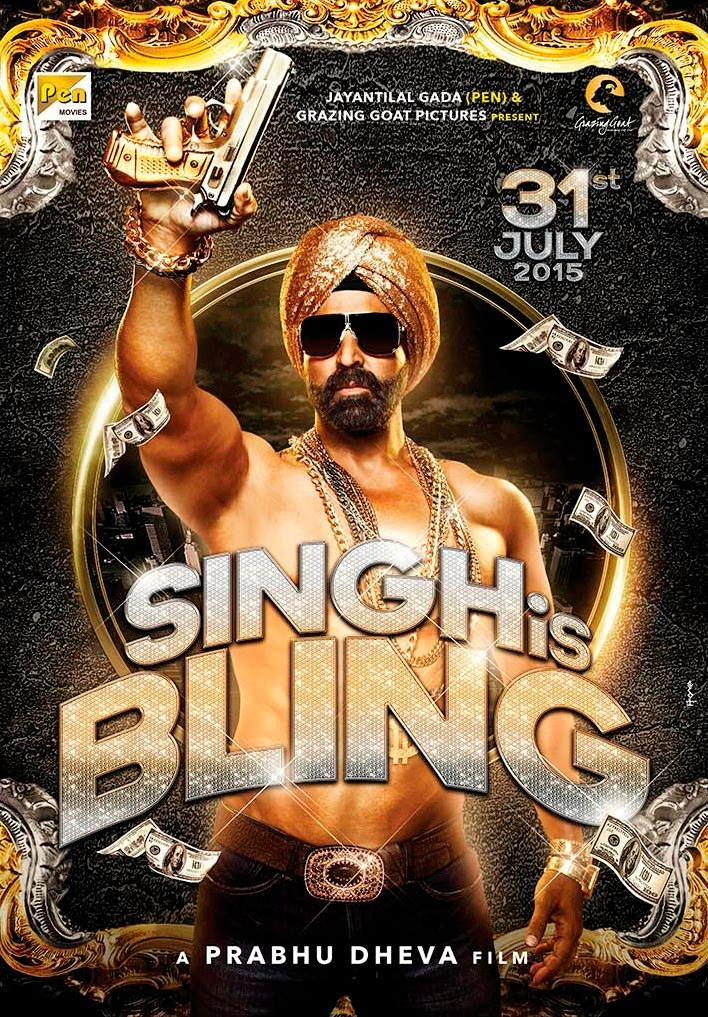 Presenting the very first look of Singh Is Bling starring Akshay Kumar, directed by Prabhu Dheva, releasing on 31st July, 2015! What do you guys think?  Rebel Angel