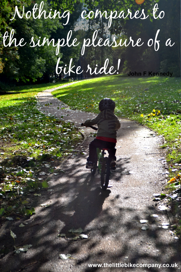 The Easy Way To Teach A Child To Ride A Bike Bike Ride Quotes