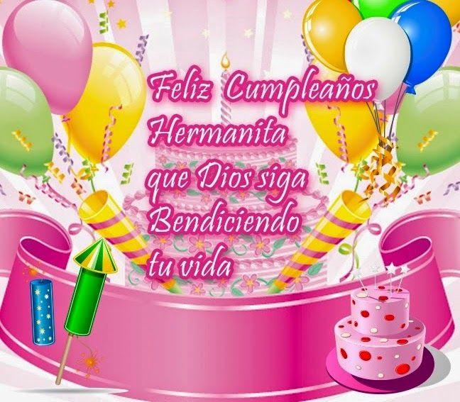 Frases De Cumpleaños Para Una Hermana Imágenes De Cumpleaños Feliz Cumpleaños Hermanito Tarjetas De Feliz Cumpleaños Cumpleaños Hermana