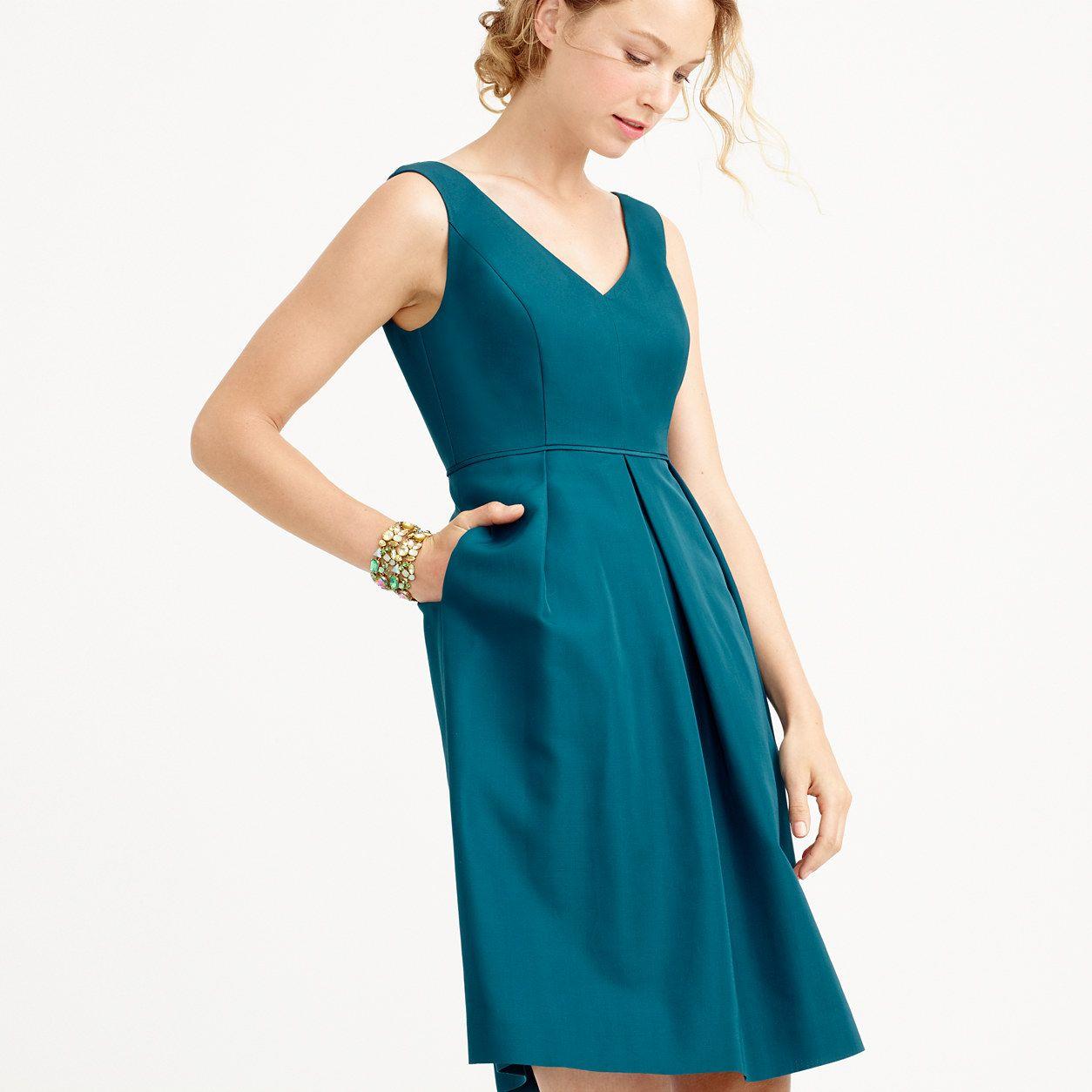 Kami dress in classic faille : Classic Faille | J.Crew | Kristin\'s ...