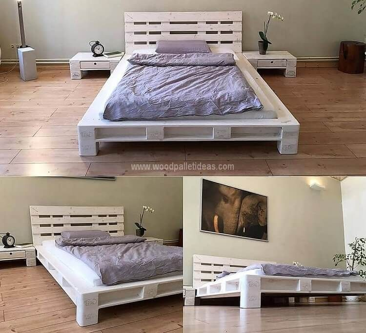 Creative Reusing Ideas For Used Shipping Pallets Deco Chambre