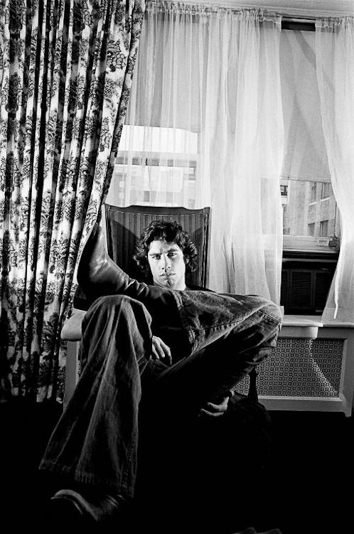 John Travolta, NYC, 1975. By Michael Tighe. Travolta's not vintage but this fantastic photo is.