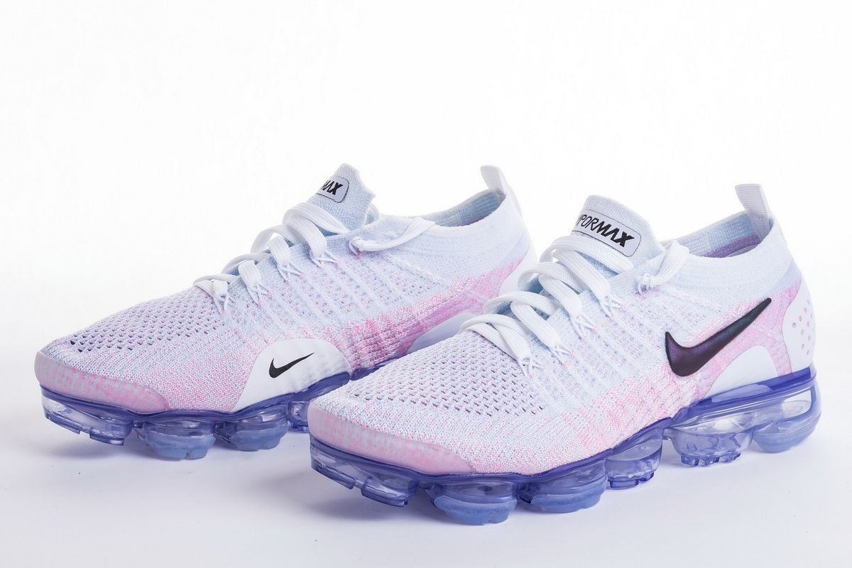 Nike Air VaporMax 2.0 White Pink 942843-102 Shoes Nike Air VaporMax 2.0  White Hydrogen Blue March 29 e203afcee084