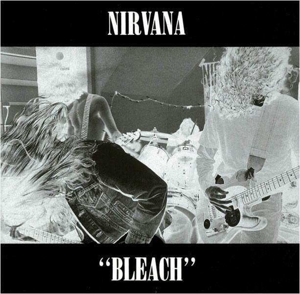 "Nirvana's first LP ""Bleach"""