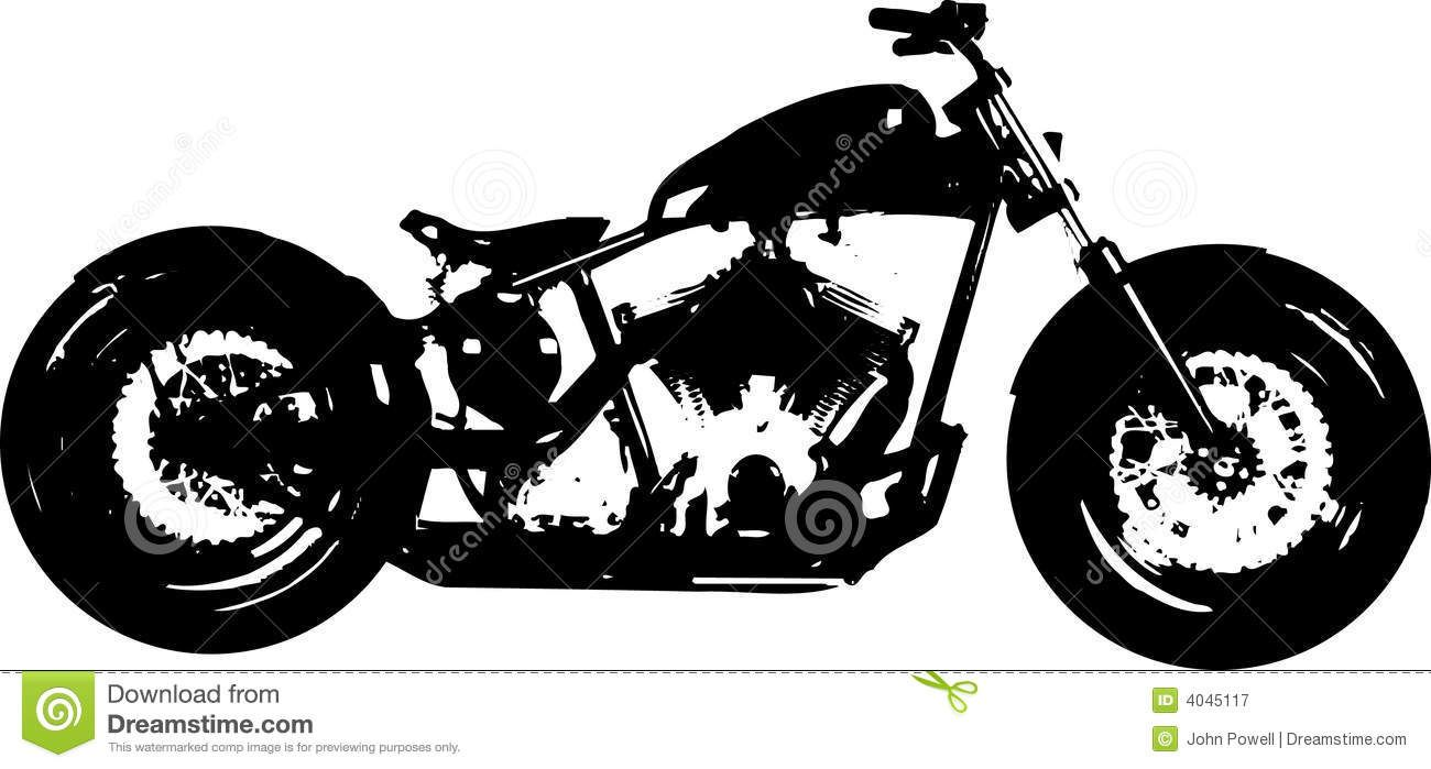 Vintage Motorcycle Graphic Silhouette Harley Davidson Google Search Bike Drawing Art Decal Wall Art