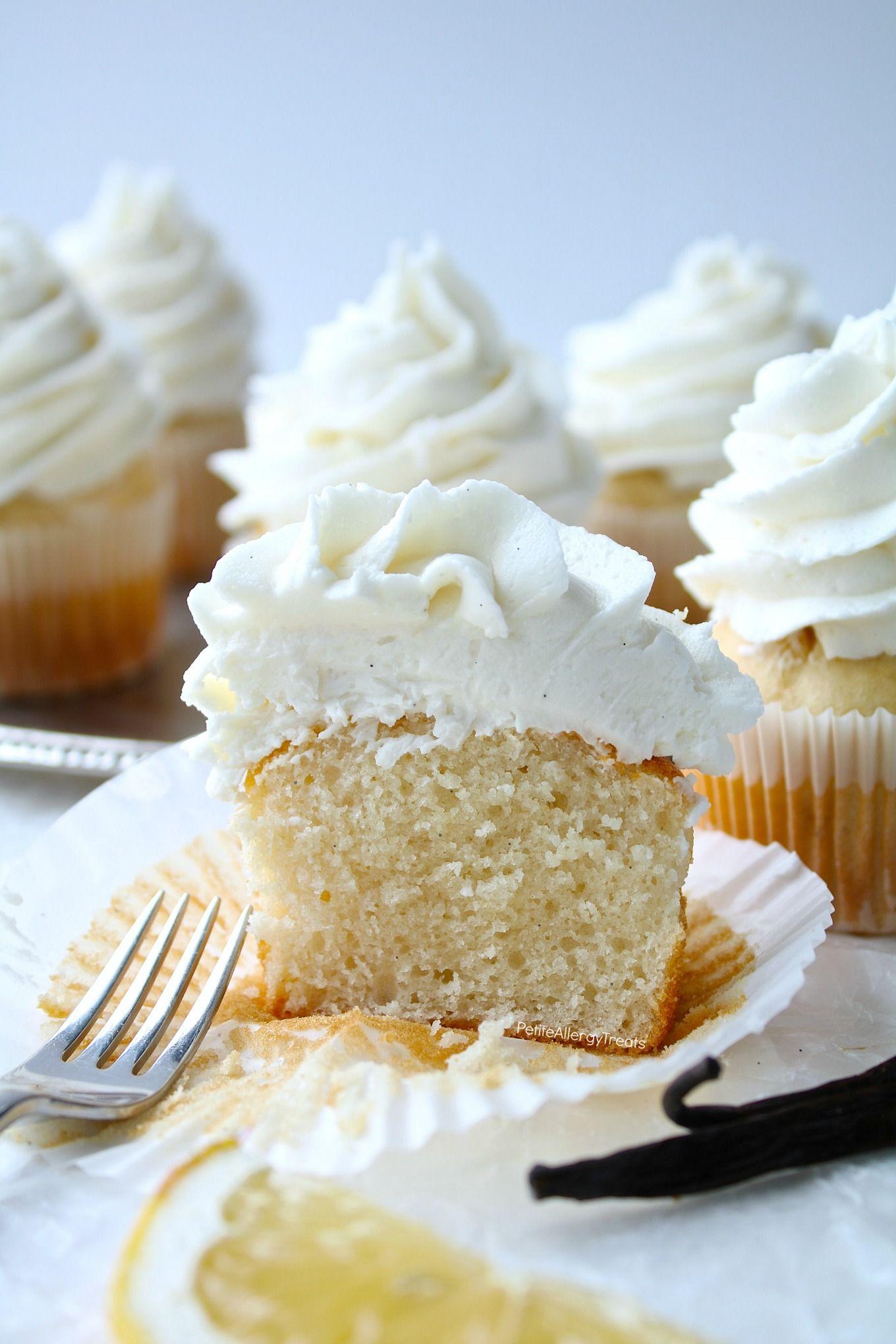 Vegan Gluten Free Vanilla Cupcakes & Allergy Amulet