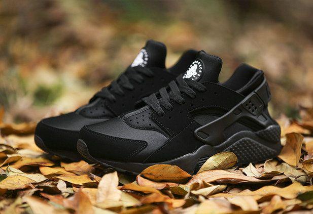 El Mejor Modem Nike 46 Air Huarache Euro 36 46 Nike Todo Negro Idea Scarpe 873685