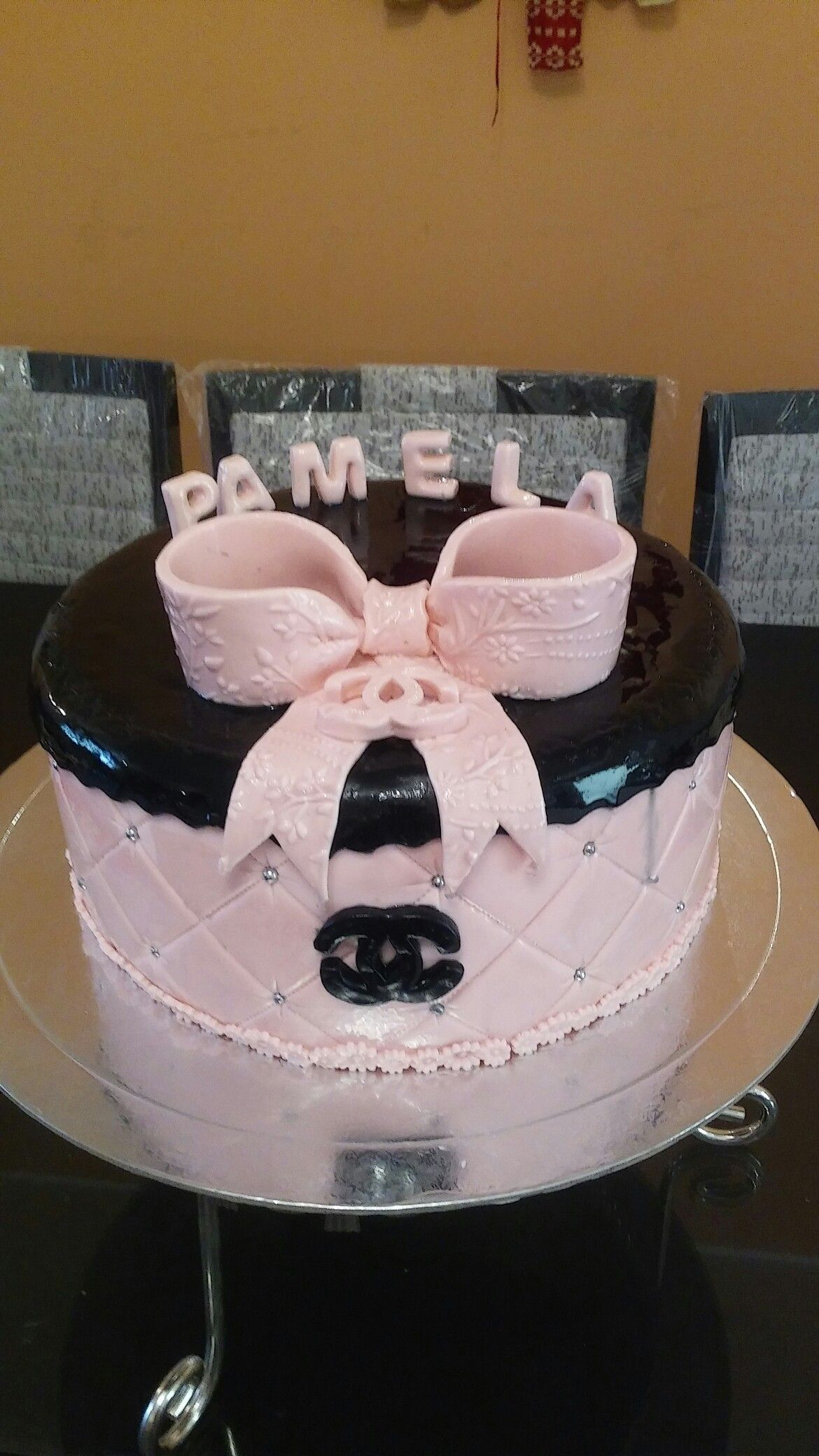 Channel Birthdays Cake Torta Channel De Cumpleaos El Deleite De