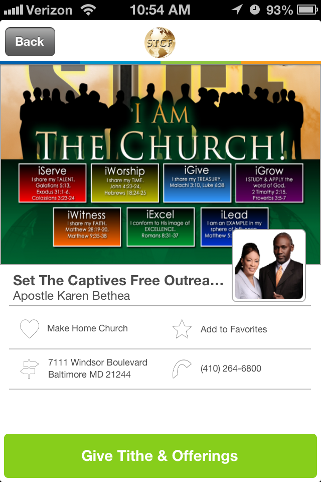 Places of Worship Church Giving App Word of god, Words