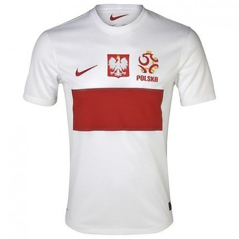 La Selección de Polonia Eurocopa 2012 Camiseta futbol 379 -