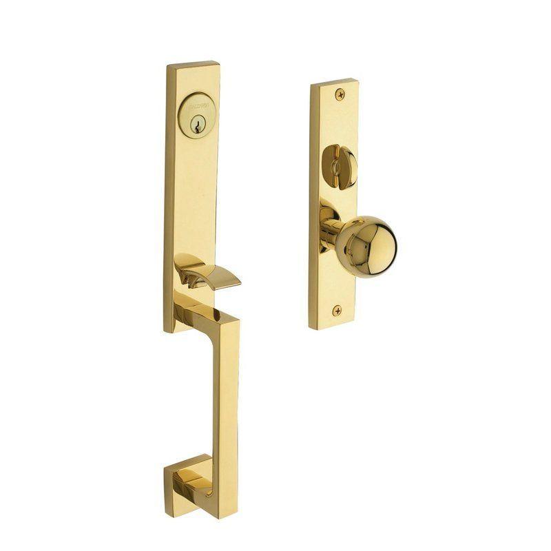 Baldwin 6562040dblc Satin Brass New York Double Cylinder Mortise