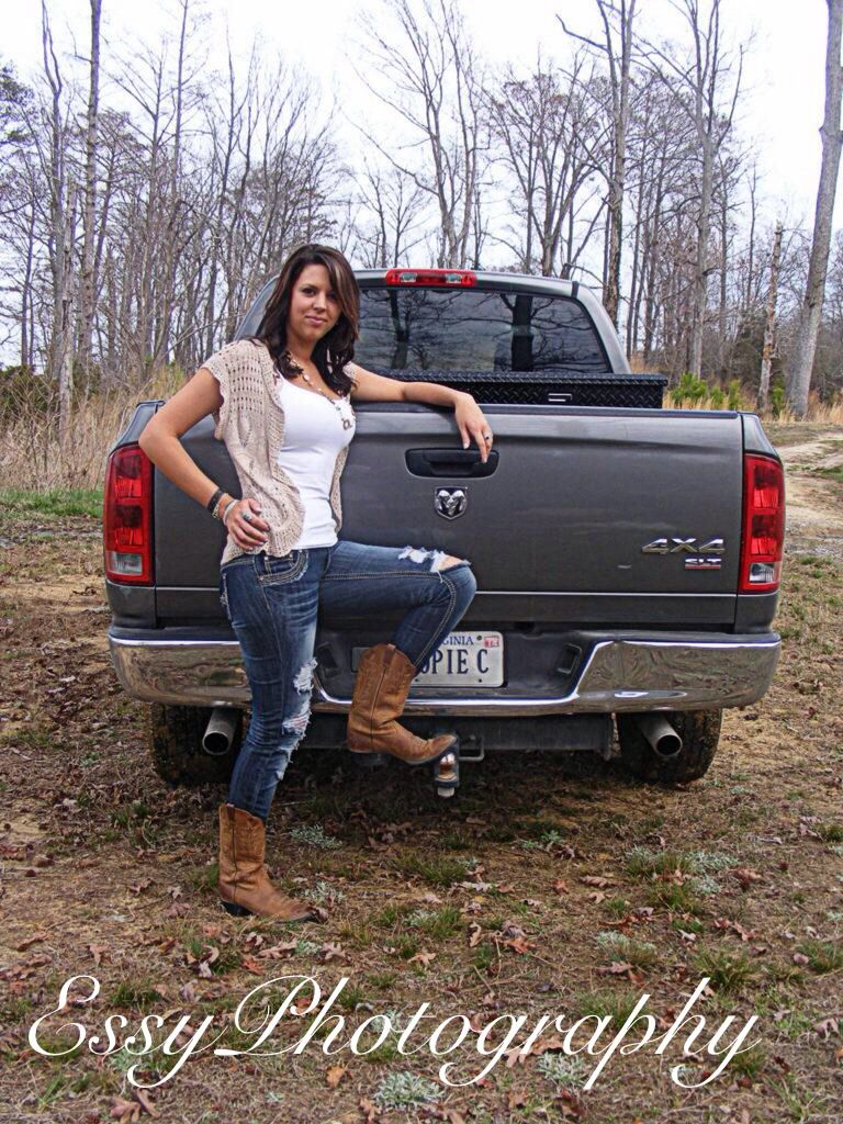essy photography country girl boots truck
