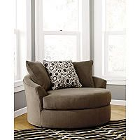 Roenik Oversized Swivel Accent Chair With Images Swivel Accent