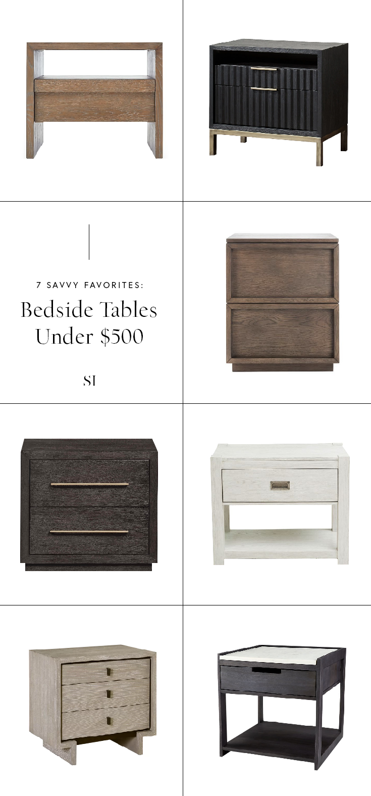 Best Nightstands And Bedside Tables For A Contemporary Modern