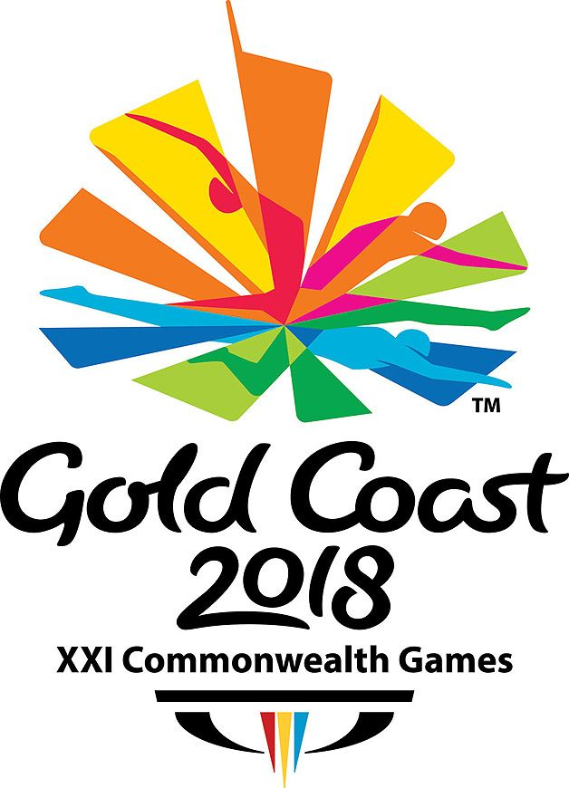gold coast commonwealth games events logos  commonwealth games