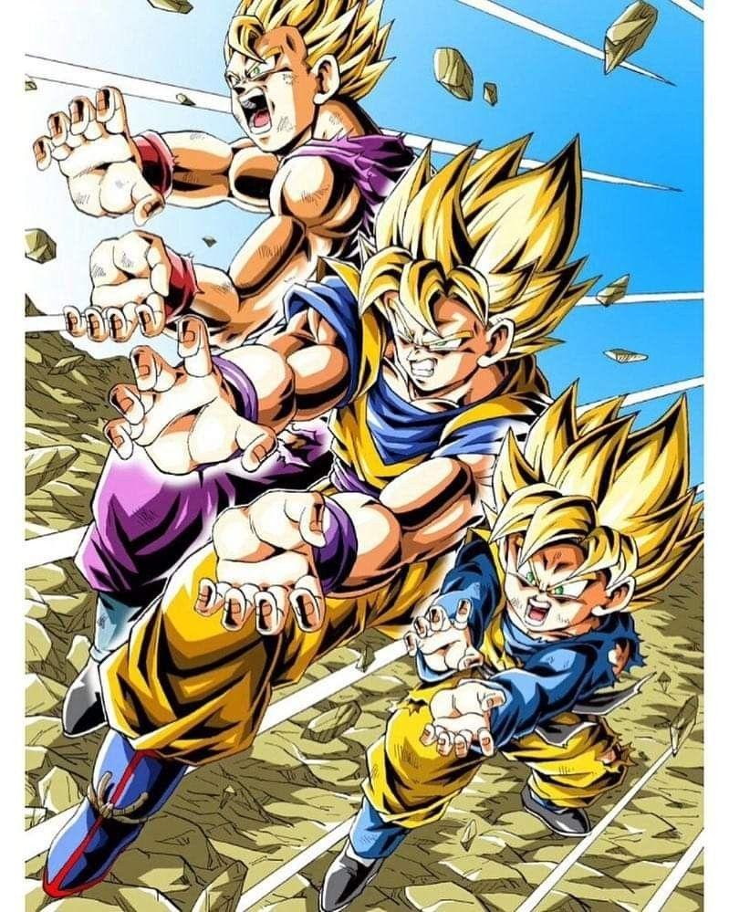 Fabulous Sweat-Shirt Enfant Dragon Ball Z Anime Manga Japan Broly