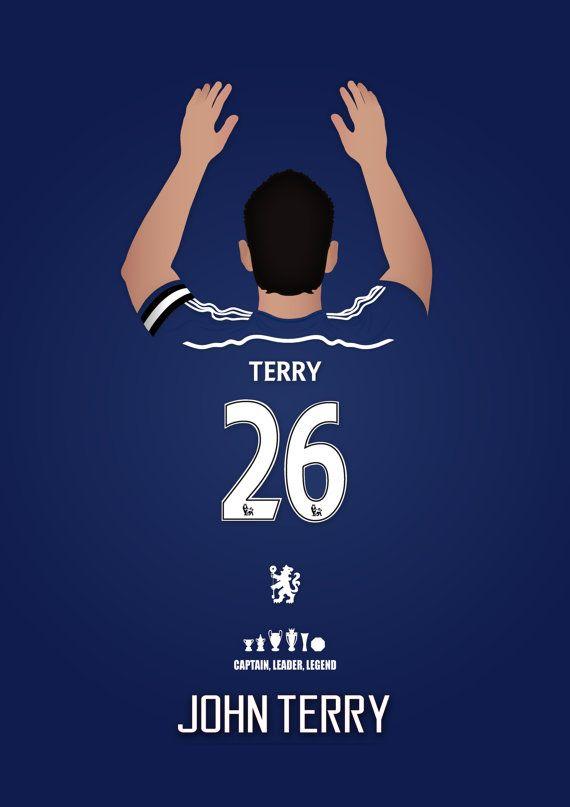 Le prochain épisode de mes légendes Chelsea FC imprimer série, aux côtés de Frank Lampard et Gianfranco Zola est capitaine, chef de file, légende John Terry. Une grande décoration cadeau ou une affiche pour n'importe quel fan de Chelsea, célèbre une, si ce n'est pas, la figure defenitive de jamais porter le maillot bleu. Le prix indiqué est pour une impression de format A3, format A2/A1/A0 sera £20. Livraison gratuite dans le Royaume-Uni, £4,00 pour l'étranger - tous les articles sont expéd...