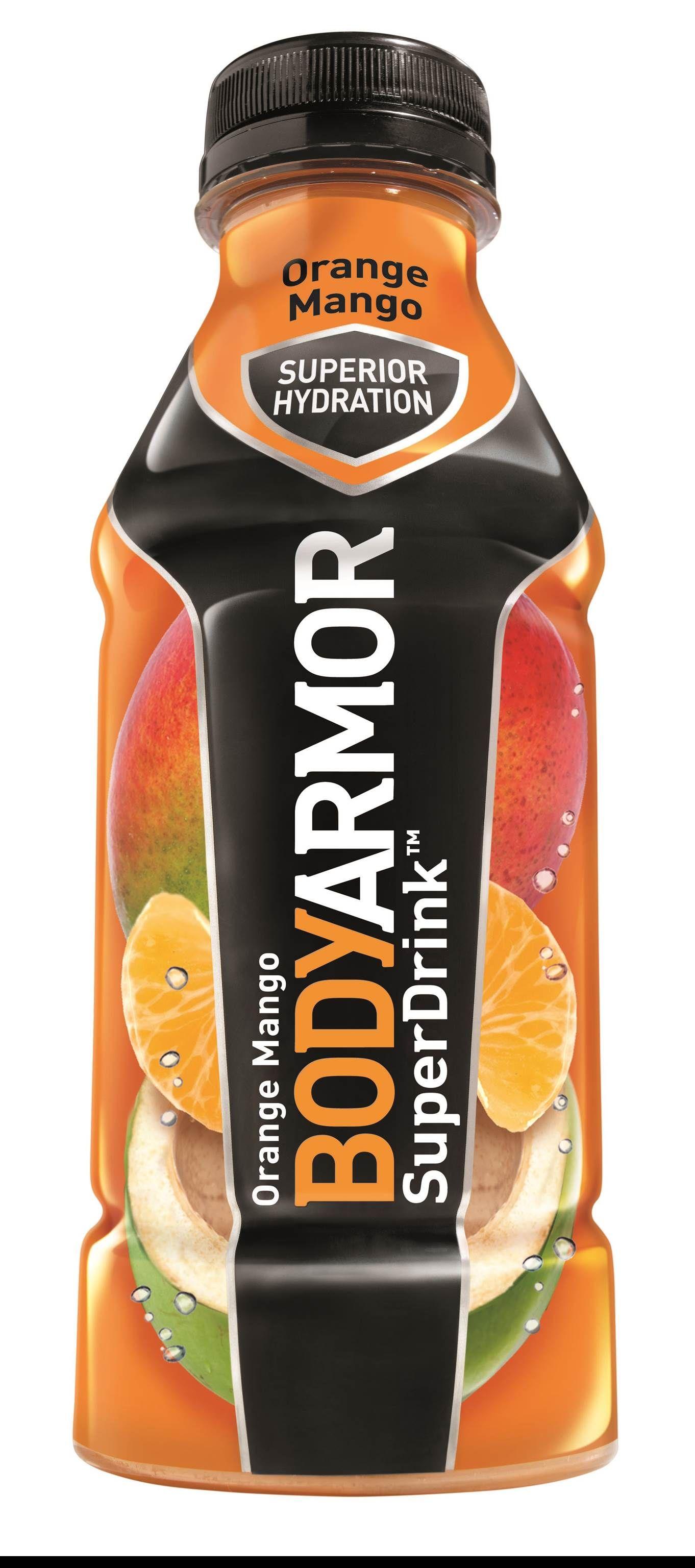 Orange Mango BODYARMOR Natural SportsDrink Sports