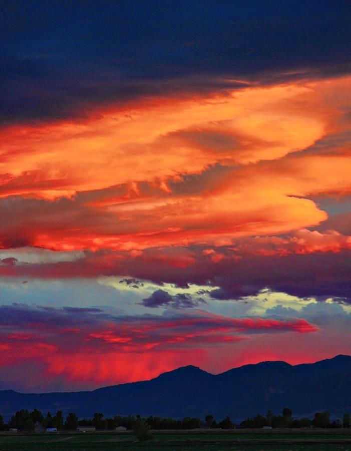 Looking To Boulder | Paisajes, Fotografía nocturna y Fotografia ...