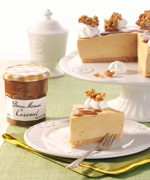 Bonne Maman Caramel Cheesecake Cheesecakes Kasekuchen Kuchen