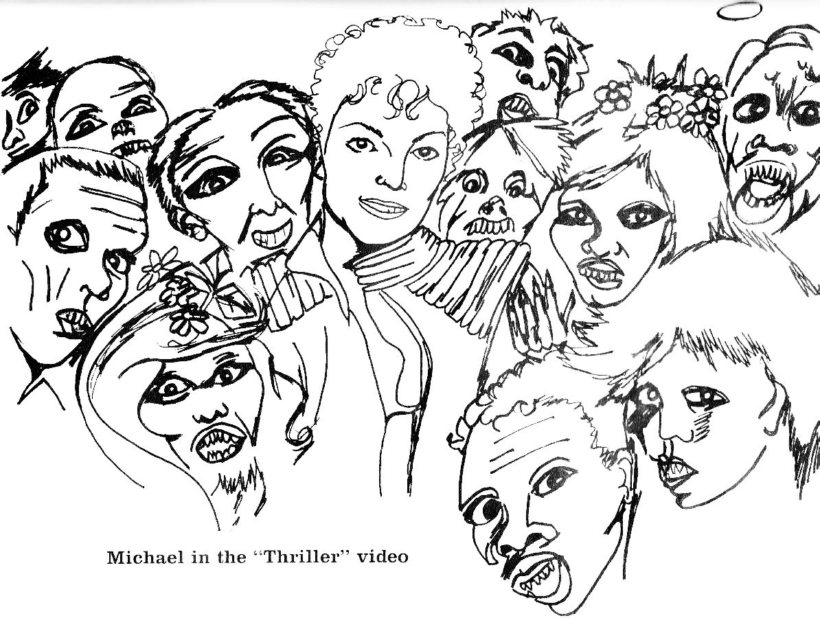 Page 18 | Michael Jackson Coloring Book | Pinterest | Coloring books